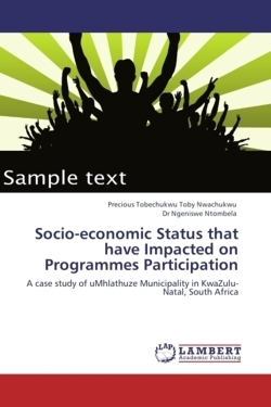 Socio-economic Status that have Impacted on Programmes Participation