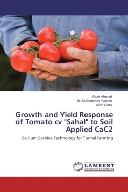 """Growth and Yield Response of Tomato cv """"Sahal"""" to Soil Applied CaC2"""