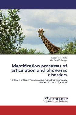 Identification processes of articulation and phonemic disorders