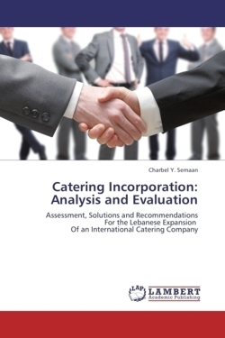 Catering Incorporation: Analysis and Evaluation - Y. Semaan, Charbel