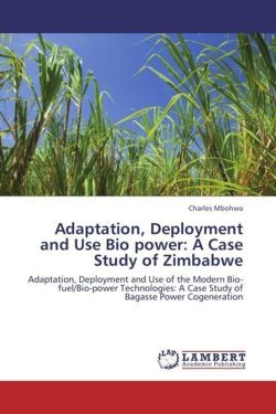 Adaptation, Deployment and Use Bio power: A Case Study of Zimbabwe - Mbohwa, Charles