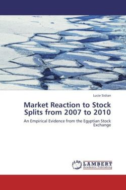 Market Reaction to Stock Splits from 2007 to 2010 - Sislian, Lucie