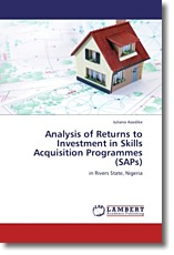Analysis of Returns to Investment in Skills Acquisition Programmes (SAPs) - Asodike, Juliana