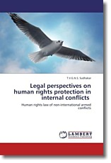 Legal perspectives on human rights protection in internal conflicts - Sudhakar, T. V. G. N. S.