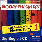 Boomwhackers - Rock / Latin / African Rhythm Party, 1 Begleit-CD