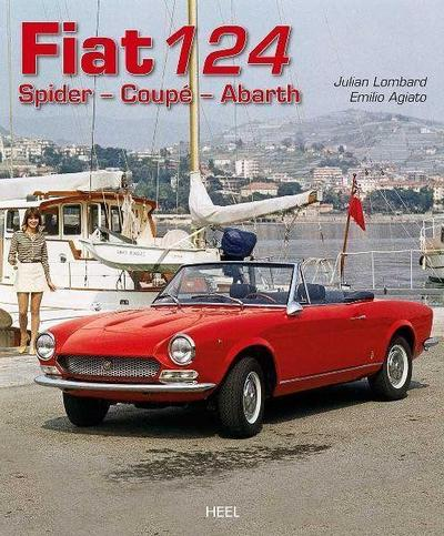 Fiat 124 : Spider - Coupé - Abarth - Julien Lombard