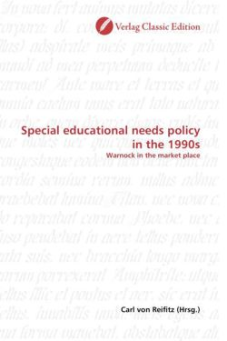 Special educational needs policy in the 1990s