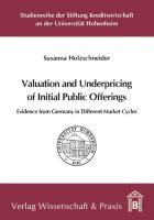 Valuation and Underpricing of Initial Public Offerings