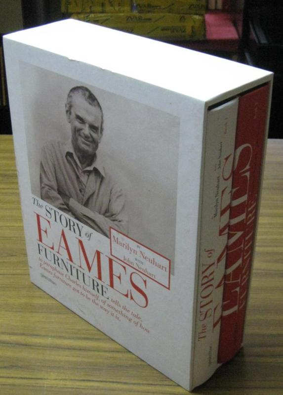 The Story of Eames Furnitures. Complete in 2 volumes. Book 1 : The early years / Book 2: The Herman Miller age. - Eames, (Charles and Ray) - Marilyn Neuhart, John Neuhart