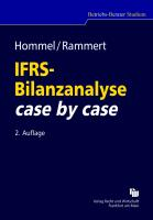 IFRS-Bilanzanalyse case by case