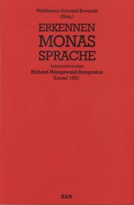 Erkennen--Monas--Sprache (Studien und Materialien zum Neukantianismus) (German Edition)