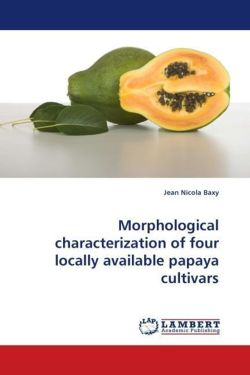 Morphological characterization of four locally available papaya cultivars