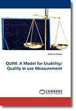 QUIM: A Model for Usability/Quality in use Measurement - Padda, Harkirat