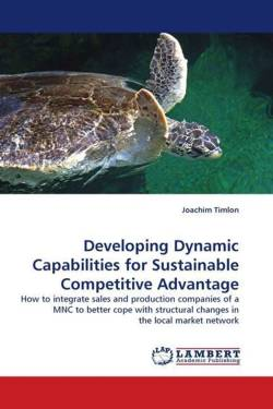 Developing Dynamic Capabilities for Sustainable Competitive Advantage - Timlon, Joachim