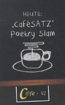 Cafesatz - Poetry slam