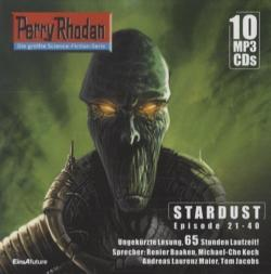 Perry Rhodan, Stardust - Episode 21-40, 10 MP3-CDs