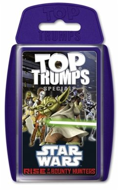 Winning Moves 61120 - Top Trumps: Star Wars Rise of the Bounty Hunters