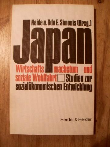 Japan.  Wirtschaftswachstum und soziale Wohlfahrt; Studien zur sozialökonomischen Entwicklung / - Simonis, Heide [Hrsg.]