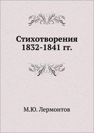 Stihotvoreniya 1832-1841 gg.