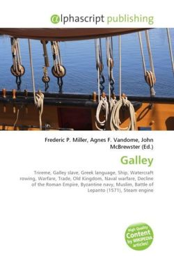Galley: Trireme, Galley slave, Greek language, Ship, Watercraft rowing, Warfare, Trade, Old Kingdom, Naval warfare, Decline of the Roman Empire, ... Battle of Lepanto (1571), Steam engine