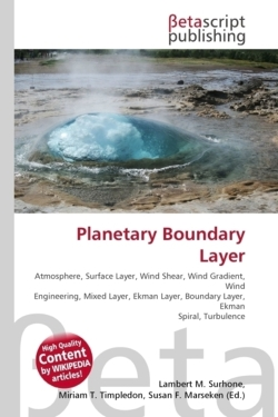 Planetary Boundary Layer
