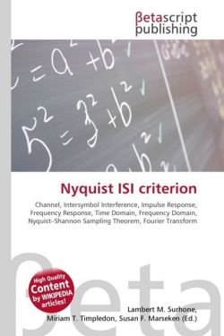 Nyquist ISI criterion