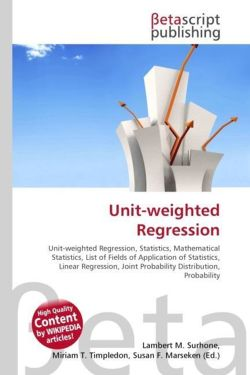 Unit-weighted Regression