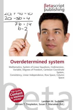 Overdetermined system