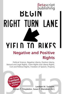 Negative and Positive Rights