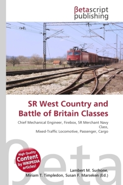 SR West Country and Battle of Britain Classes