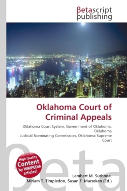 Oklahoma Court of Criminal Appeals
