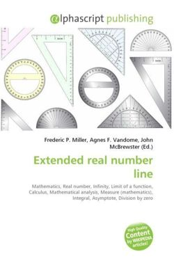Extended real number line