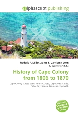 History of Cape Colony from 1806 to 1870