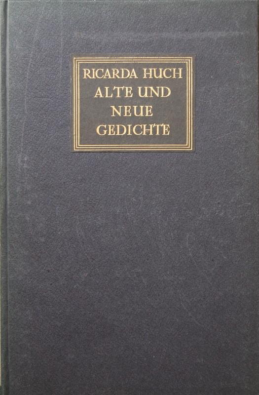 Alte und neue Gedichte.