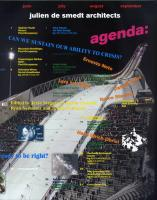 Agenda: Julien de Smedt Architects: Can We Sustain Our Ability to Crisis?