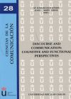 DISCOURSE AND COMMUNICATION:COGNITIVE AND FUNCTIONAL PERSPETIVES - Mª LUISA BLANCO GOMEZ