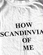 How scandinavian of me