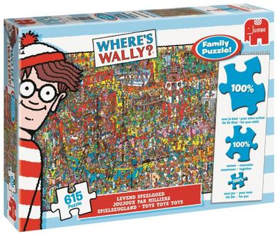Wo ist Walter? - Where's Wally? - Spielzeugland - Familienpuzzle 615 Teile