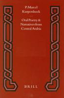 Oral Poetry and Narratives from Central Arabia II: The Story of a Desert Knight