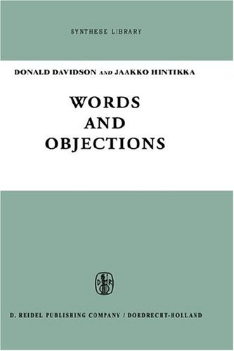 Words and Objections: Essays on the Work of W.V. Quine (Synthese Library) - D. Davidson; Jaakko Hintikka