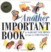 Another Important Book - Brown, Margaret Wise / Raschka, Chris