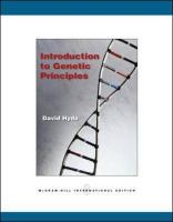 Introduction to Genetic Principles