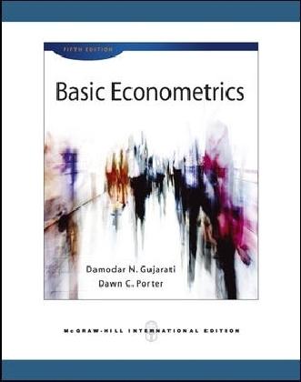 Basic Econometrics - International Edition - Gujarati, Damodar N.
