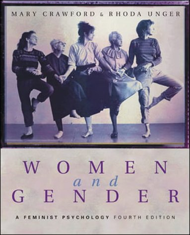 Women and Gender: A Feminist Psychology - Crawford, Mary and Rhoda Unger