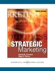 Strategic Marketing - David W. Cravens, Nigel Piercy