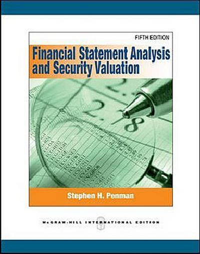 Financial Statement Analysis and Security Valuation - Stephen H. Penman