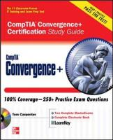 CompTIA Convergence+ Certification Study Guide