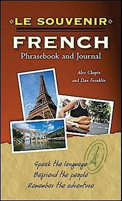 Le souvenir French Phrasebook and Journal - Alex Chapin