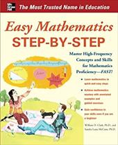Easy Mathematics Step-By-Step - McCune, Sandra Luna / Clark, William D.