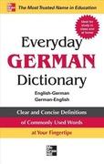 Everyday German Dictionary: English-German German-English